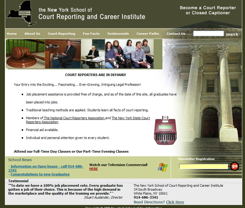 New York School of Court Reporting