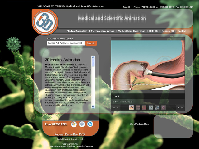 Tres 3D Medical Animation Studio